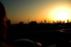 Skyline (f.s.) Tags: city travel sunset sky sun skyline dubai tramonto skyscrapers emirates cielo silvia arabia wife sole viaggio citt moglie emirati grattacieli metropoli mywinners anawesomeshot