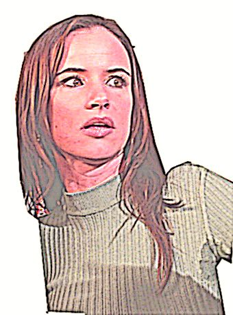 Juliette Lewis Painting