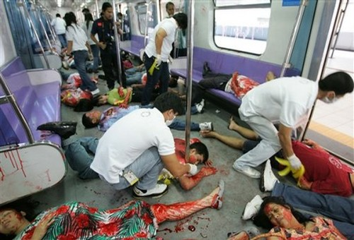 Philippines Terror Attack Drill