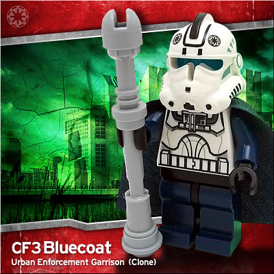 CF3 Bluecoat custom minifig