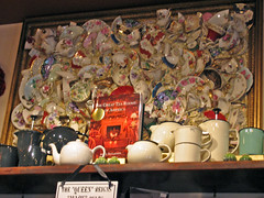 THE QUEEN MARY TEA ROOM~ SEATTLE (AGA~mum) Tags: tea framedart tearoom afternoontea teashop brokenbits thequeenmarytearoom