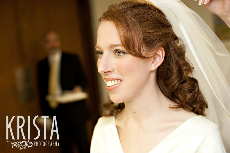 Orthodox Jewish Wedding Her necklace was gorgeous and a family heirloom