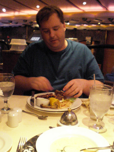 Mike and His Fave - The Baby Back Ribs (Carnival Splendor)