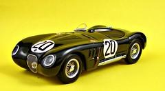 Jaguar XK120C, Winner 1951 Le Mans, Drivers Peter Walker / Peter Whitehead (montanaman1) Tags: 120 scale model c peter mans walker le winner whitehead jaguar 1951 143 diecast xk ixo xk120c