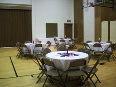 Decorating The Night Before - Guest Tables