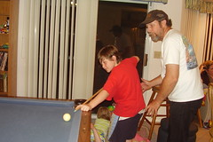 062809-05 Robbie learns from dad
