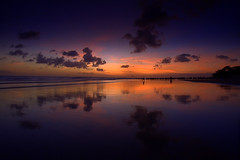 Blue hour @ Kudeta Bali (Helminadia Ranford(New York)) Tags: sky bali seascape reflection clouds indonesia bluehour 1022mm kudeta canon50d natureselegantshots vosplusbellesphotos rawproccessedwithdigitalphotopro
