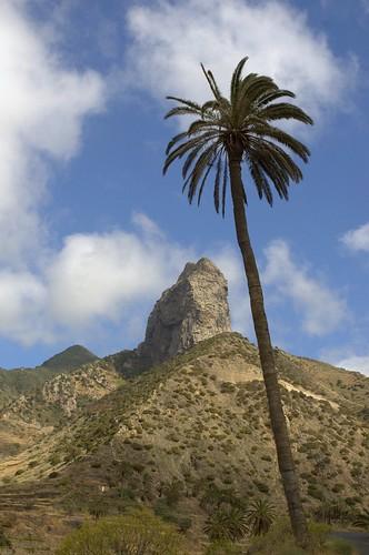 La Gomera: Roque Cano near Vallehermoso