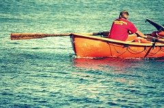 ...lifeguard... (anka.anka28) Tags: sea water boat poland polska lifeguard explore woda wopr gdynia łódka morze pomorze explored 450d ratownik canon450d