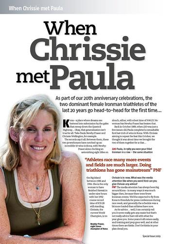 When Chrissie met Paula
