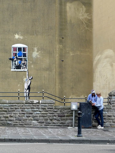 banksy in bristol . 03 by you.