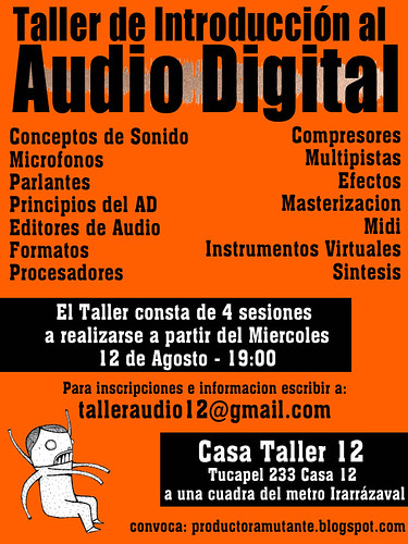 Taller de Introducción al Audio Digital