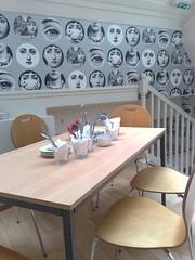 Interior of Amore Dogs restaurant, Edinburgh