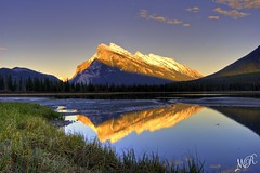 Mount Rundle (Meleah Reardon) Tags: park mountain canada reflections rockies amazing canadian mount national banff reflexions breathtaking rundle photos amazing super award amazingcapture colorphotoaward breathtakinggoldaward 100commentgroup superamazingcaptureaward breathtakinghalloffame mygearandmesilver mygearandmegold mygearandmeplatinum mygearandmediamond