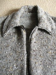flecked wool (Knitter from the past) Tags: 1940s 1950s vintagepattern vintageknitting