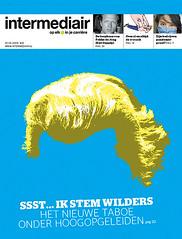 coverdesign Intermediair magazine (jaap!) Tags: art illustration hair design direction cover jaap biemans wilders geer directie