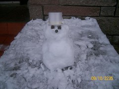 Mini Snowman (Niseag) Tags: snow snowman small mini