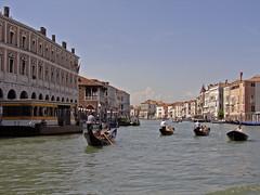 Venezia (Italy) #001 (][\/][) Tags: venice italy photoshop canal grande italia gondola venezia venedig canonpowershots2is 2009