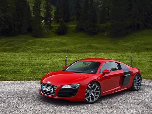 Audi R8 V10 Red Carbon Audidriven