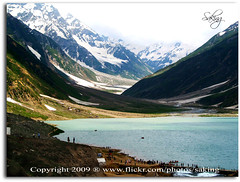 Lake Saful Maluk (Saking--Little Busy) Tags: blue lake mountains cold nature water kingdom glacier stealth saqib saking concordians kingloi stunningwisdom safulmaluk
