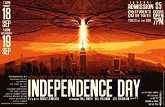 Poster design for Independence Day movie by ralphhogaboom, on Flickr
