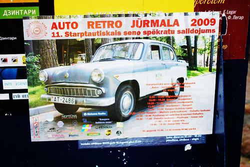AUTO RETRO JŪRMALA  2009