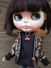 Blythe Winged Heart Necklace