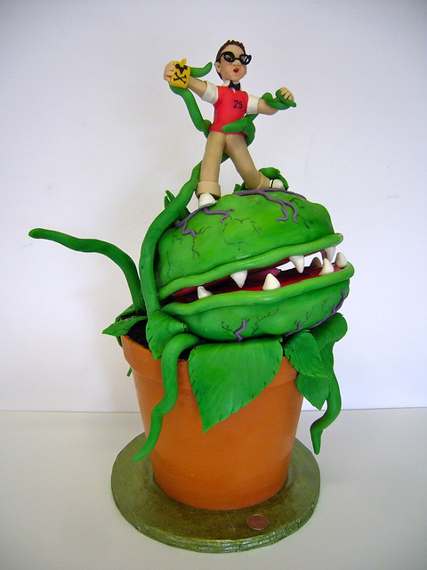 Little Shop of Horrors Cake