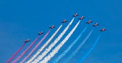 Red Arrows (ajnabeee) Tags: show red scotland fife aviation air airshow planes arrows redarrows raf leuchars royalairforce leucharsairshow
