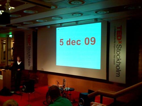 TEDxStockholm – Nu kör vi TEDxSweden?