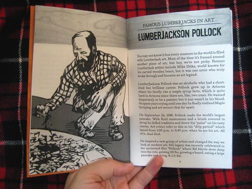 LumberJackson Pollock