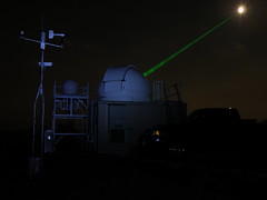 Bouncing a Laser off of the Moon (NASA Goddard Photo and Video) Tags: nasa