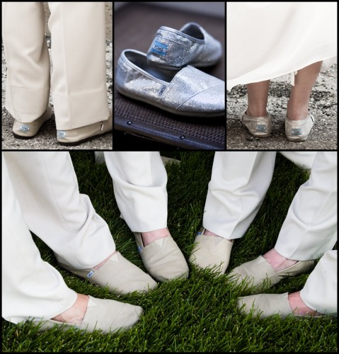 toms shoes wedding