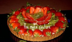 11. Fruit Tart (The Cake Couture (is currently not taking any orde) Tags: fruit strawberry kiwi tart  doha qatar                         thecakecouture