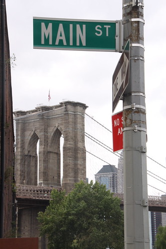 main street, dumbo, brooklyn
