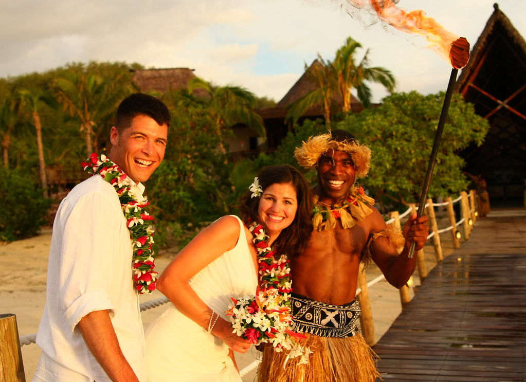 Romance is alive in Fiji