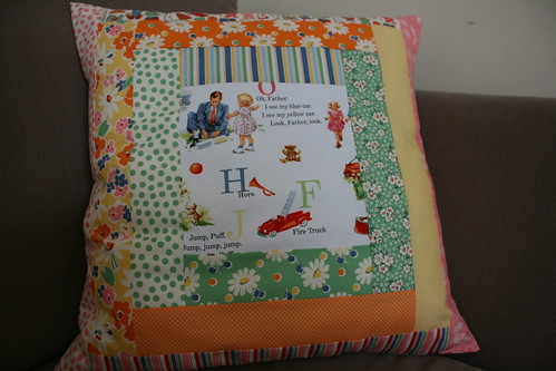 Madeline's cushion