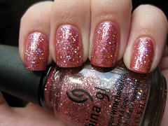 China Glaze - Carnival Lights (mariahgem) Tags: pink iridescent np nailpolish holo chinaglaze