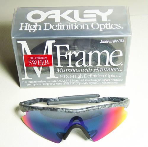 9512ea7895a Oakley M Frame Sweep Mumbo Black Rain +Red Iridium - a photo on ...