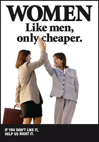 Women, don't believe it