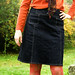 Denim Skirt:  BWOF 04-2009-101