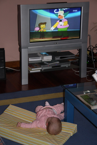 Watching the Simpsons