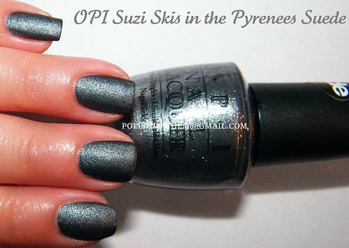 OPI Suzi Skis in the Pyrenees Suede