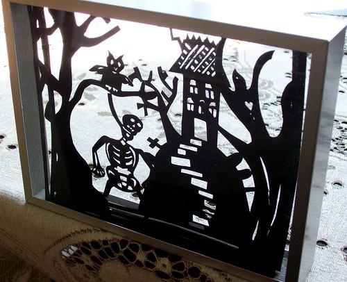 Halloween Papercut