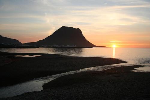 Por do Sol em Grundafjordur na Islândia