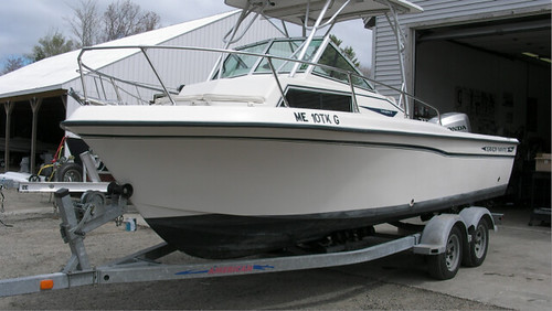 This Grady White 20' is a gorgeous boat that has a new Honda 150 and a ...