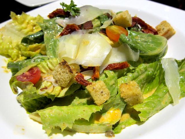 Tom Yum Khoong Caesar Salad