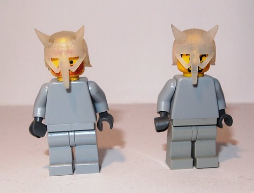Custom minifig Frosted Ultradetail and detail