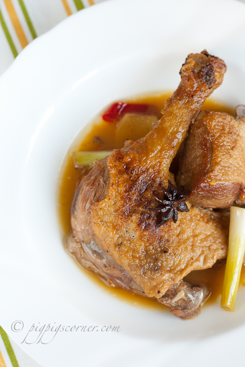 Vietnamese Duck Braised in Spiced Orange Juice 2