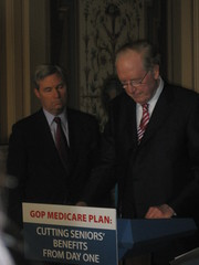 Senate Dems Protest Medicare Cuts
